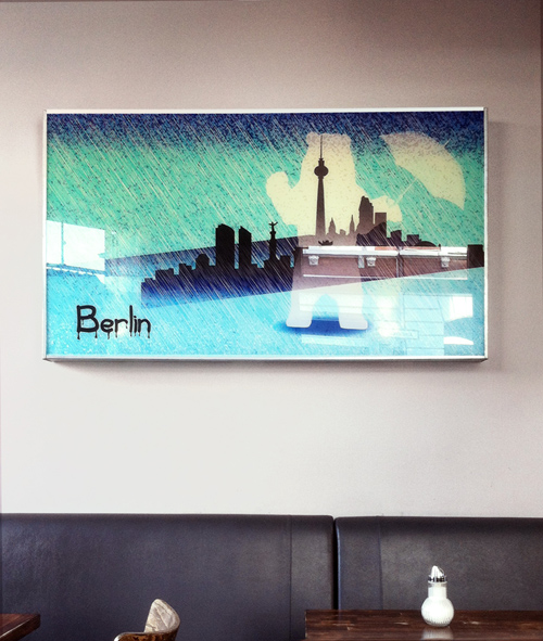 Cafe Berlin_Bielefeld_Digitalprint/corporate art_©www.farbelhaft.com